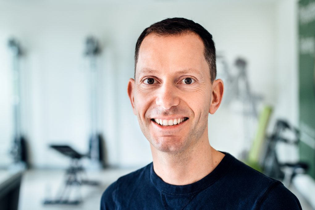 Physiotherapeut Christian Bartelman