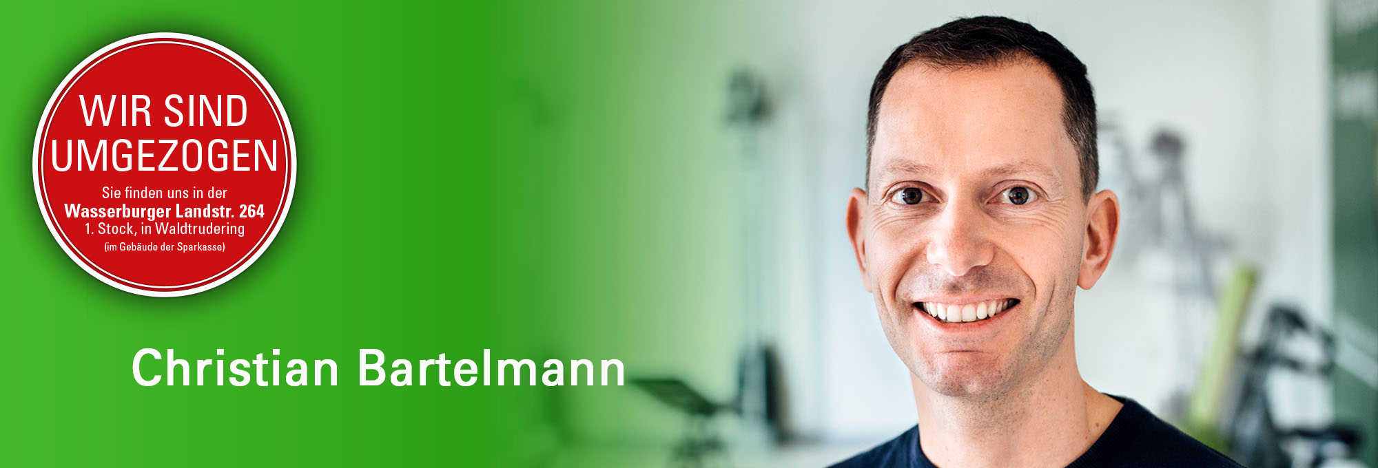 Physiotherapeut Christian Bartelmann - Inh. Physiotherapie Trudering